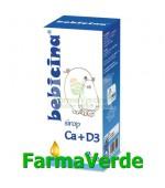 BEBICINA Ca+D3 Sirop 100ml Hipocrate Omega Pharm