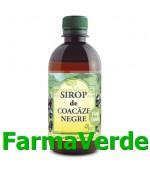 Sirop de Coacaze negre fara zahar 500ml Hipocrate Omega Pharm