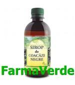 Sirop de Coacaze negre 500ml Hipocrate Omega Pharm