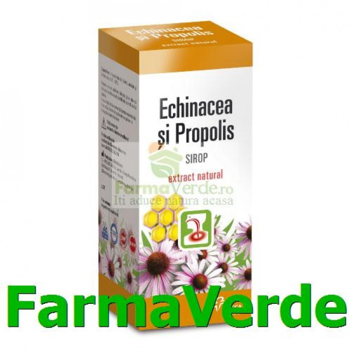 Sirop de Echinacea si Propolis 100ml Hipocrate