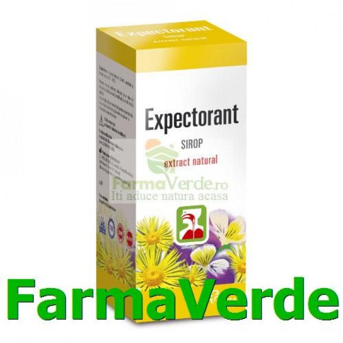 Sirop Expectorant din Plante Medicinale 100ml Hipocrate