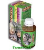 FEROVIT Natural Sirop Fara Zahar 100 ml Natural Pharmaceuticals