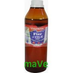 Sirop Fier + Vitamina C 250 ml Favisan