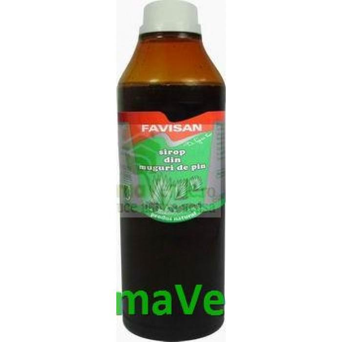 Sirop Natural din Muguri de pin Favisan