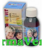 MULTIVIT Natural Sirop Fara Zahar 150ml Natural Pharmaceuticals