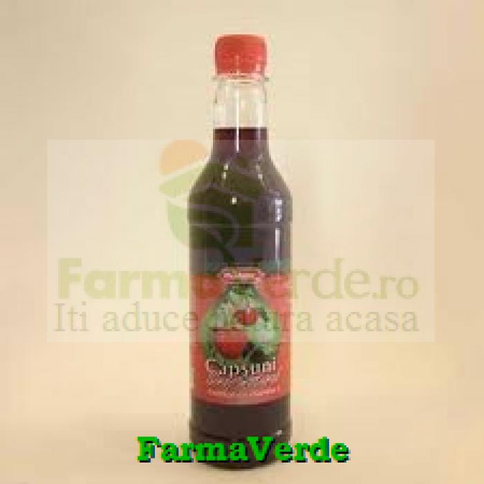Sirop Pasteurizat Capsuni 480 ml Natex Import Export