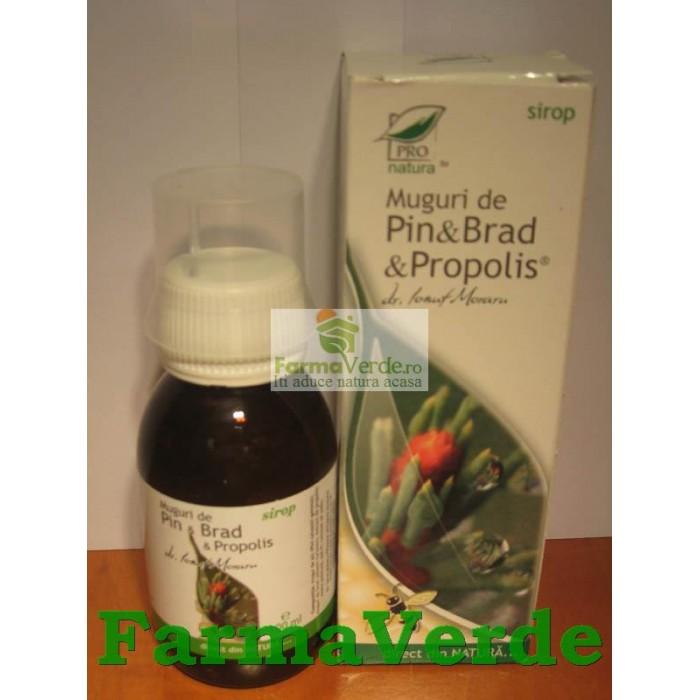 Sirop Muguri de Pin & Brad & Propolis 100 ml Medica