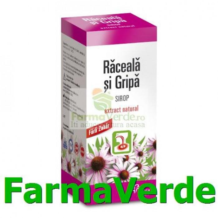 Sirop din Plante Medicinale Raceala si Gripa 100ml Hipocrate