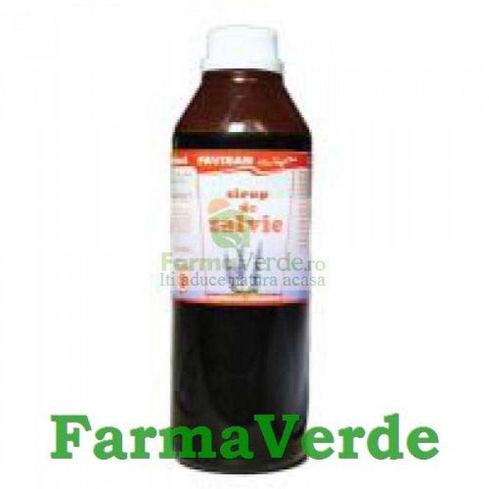 Sirop Natural de Salvie 250 ml Favisan
