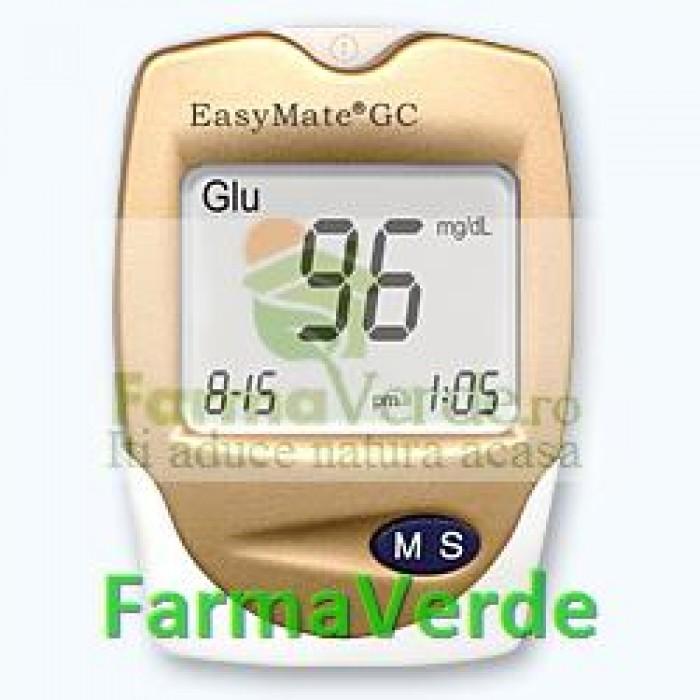 EasyMate SISTEM DUAL de Monitorizare Glicemie si Colesterolul