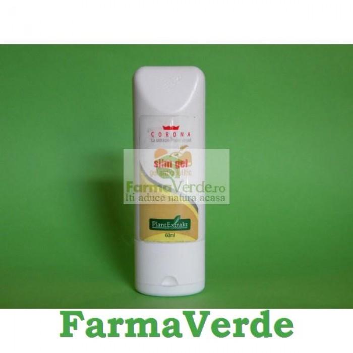 Slim gel Gel Anticelulitic 60 ml Plantextrakt
