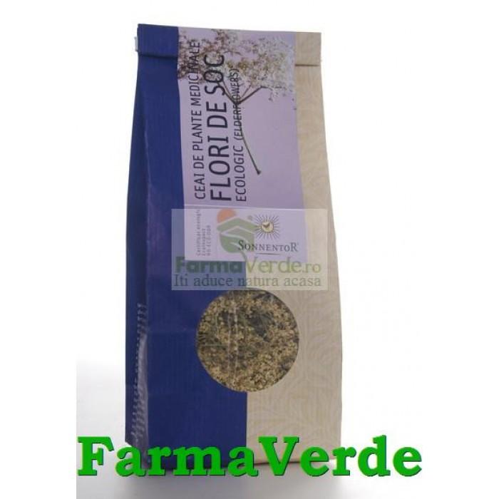 Ceai Plante Flori de Soc BIO Ecologic 80 gr Sonnentor