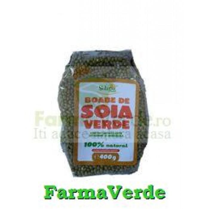 Soia Verde Boabe Nemodificata Genetic 500Gr Solaris Plant