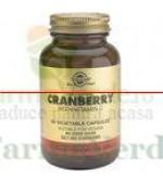 Solgar Merisor Cranberry Extract cu Vitamina C 60 capsule