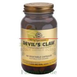 Solgar Devil's Claw 100 capsule Gheara diavolului