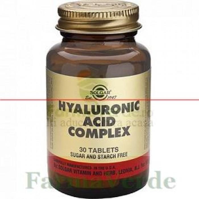 Solgar Hyaluronic Acid Complex 120 mg 30 tablete