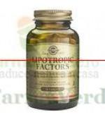 Solgar Lipotropic Factors 50 tablete