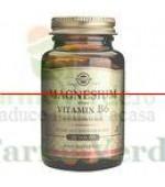 Solgar Magneziu cu vitamina B6 100 comprimate
