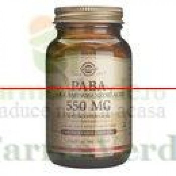 Solgar Paba 550mg acid para-aminobenzoic 100 capsule