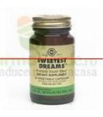 Solgar Sweetest Dreams 30 capsule L-teanina si melatonina