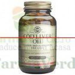 Solgar Cod Liver Oil Ulei din ficat de cod 100 capsule