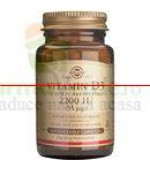 Solgar Vitamina D3 2200 IU 50 capsule