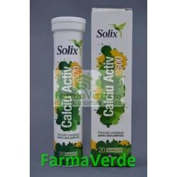 SOLIX Calciu Activ 500 20 cpr eff Health Advisors