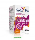 Solix Tab CaMgZn plus D3 Multivitamine 30 cpr Health Advisors
