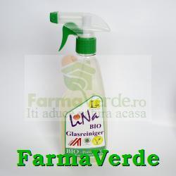 Solutie pentru geamuri BIO cu nuci de sapun, aroma de lamaie