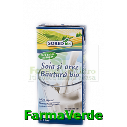 Bautura SORED BIO din orez si soia 1L Sano Vita