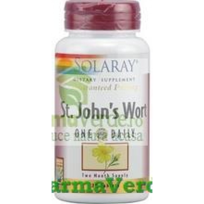 ST. JOHN'S WORT 900 mg 30 tablete Solaray Secom