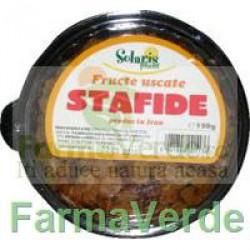 Fructe Uscate Stafide 150 Gr Solaris Plant
