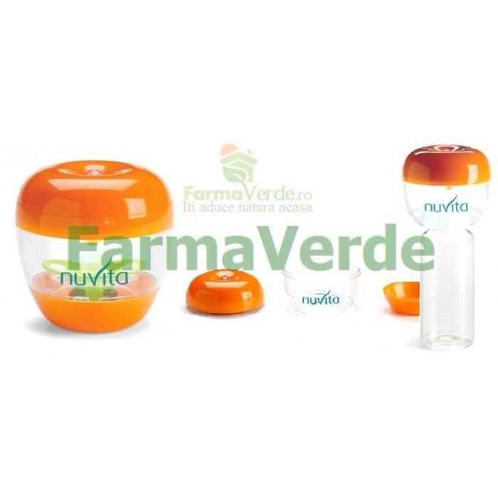 Sterilizator UV portabil pentru suzete si tetine Nuvita
