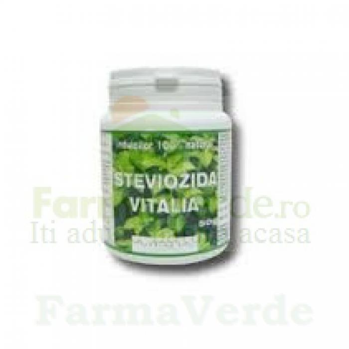 Steviozida Indulcitor Stevie 100%Natural 50 gr Vitalia Pharma