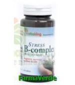 Stress B complex cu vitamina C 60 tablete Vitaking