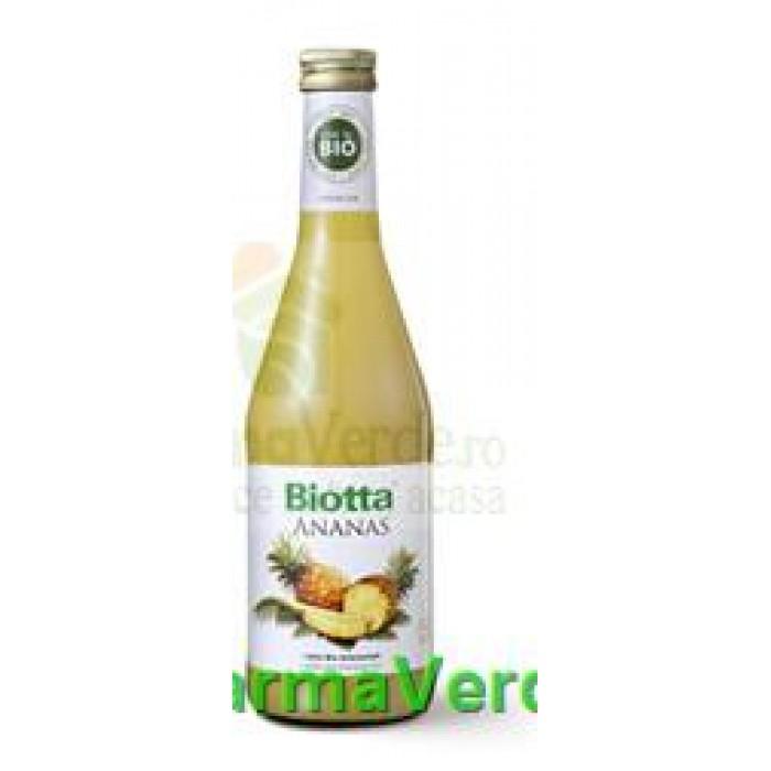 Suc de ananas BIO 500 ml Biotta Biosens
