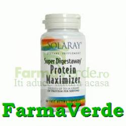 Super Digestaway Protein Maximizer 60cps Solaray Secom