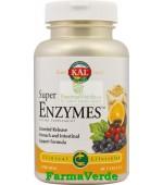 Super Enzymes 30 tablete cu eliberare prelungita Kal Secom