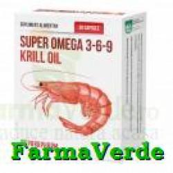 Super Omega 3-6-9 Krill Oil 30 capsule Quantum Pharm