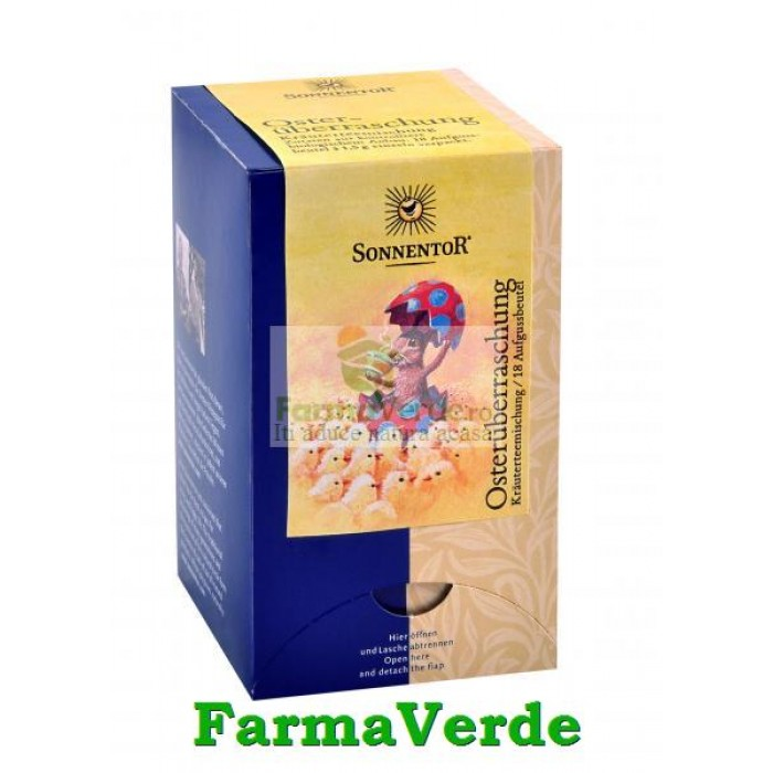 Ceai Amestec de Plante Surpriza de Pasti 18 plicuri Sonnentor