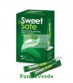 Sweet&Safe Indulcitor Natural Stevie 40 doze Sly Nutritia Diet
