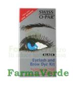 Swiss O-Par Vopsea pentru gene si sprancene Negru Business Partner