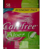 Carefree Tampoane Aloe 58 buc Johnson