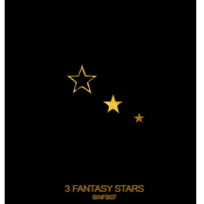 Tatuaj Aur 3 Fantasy Stars AUR 24 K SinGold Italia Tattoos