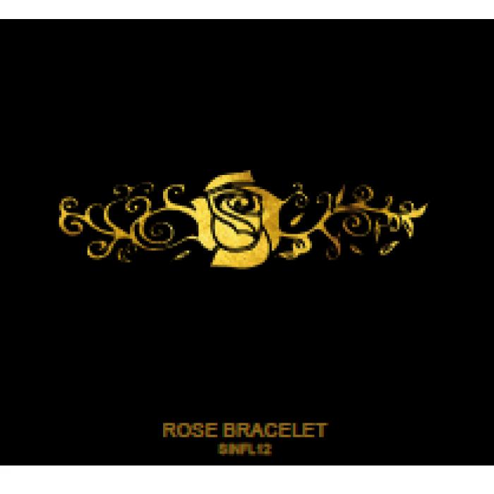 Tatuaj Aur ROSE BRACELET AUR 24 K SinGold Italia Tattoos