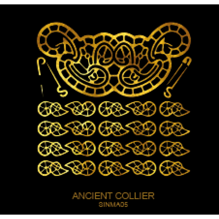 Tatuaj Aur ANCIENT COLLIER AUR 24 K SinGold Italia Tattoos