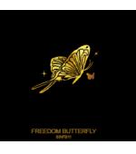 Tatuaj Aur FREEDOM BUTTERFLY AUR 24 K SinGold Italia Tattoos