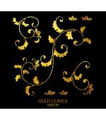 Tatuaj Aur GOLD LEAVES AUR 24 K SinGold Italia Tattoos