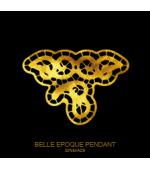 Tatuaj Aur BELLE EPOQUE PENDANT AUR 24 K SinGold Italia Tattoos