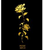 Tatuaj Aur ROSE TRANDAFIR AUR 24 K SinGold Italia Tattoos